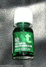 The BODY Shop TEA TREE OIL Acne Blemish Full SIZE 10 ml 0.33 fl oz Healing NEW
