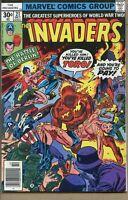 Invaders 1975 series # 21 fine comic book