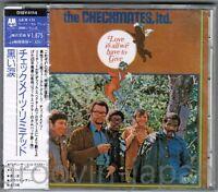 Sealed Promo! CHECKMATES, LTD Love Is All We JAPAN CD D18Y4114 w/OBI Phil Specor