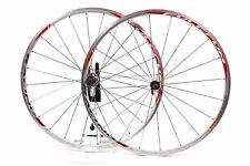 USED Fulcrum Racing 5 Evolution Road Bike Wheelset 10 speed 700C Clincher Silver