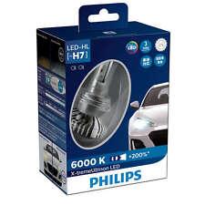Philips X-treme Ultinon LED headlight bulb H7, 6000K, +200% light 12985BWX2