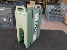 MILITARY SURPLUS CAMBRO BEVERAGE COFFEE  CONTAINER  INSULATED  ARMY