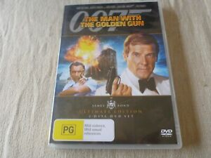 The Man With The Golden Gun - Ultimate Edition (2x DVD, 2006) Region 4