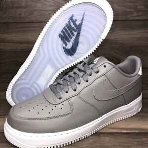 """NikeLab Air Force 1 Low """"Light Charcoal"""" 555106-002 Men's size 10"""