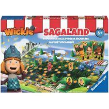 Ravensburger 21185 Wickie Sagaland Brettspiel Gesellschaft Familie Würfel NEU NE