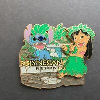 Hidden Disney 2006 Collection Polynesian Resort Lilo & Stitch - Disney Pin 44813