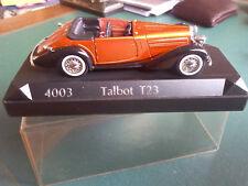 SOLIDO TALBOT T23 N° 4003 1/43