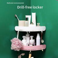 Bathroom Shelf Plastic Organizer Snap Up Corner Bathroom  Corner Shower Storage