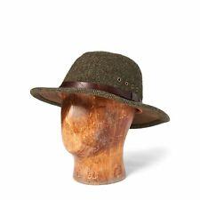 RRL Ralph Lauren Herringbone Tweed Safari Wool Fishing Hunting Hat Cap NWT  L XL aae98fffa346