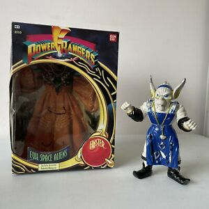 """FINSTER 8"""" 1993 BOXED Mighty Morphin Power Rangers Deluxe VINTAGE boxed"""