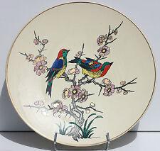 GRAND PLAT ANCIEN EN FAIENCE - LONGWY - M.P. CHEVALLIER - N° 70/200 - D. 37 cm