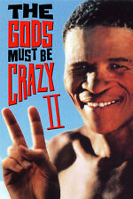 THE GODS MUST BE CRAZY II 1990 SOUTH AFRICA (DVD) COMEDY BUSHMEN