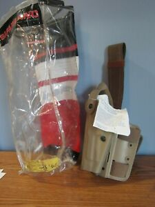SAFARILAND TACTICAL HOLSTER BERETTA LEFT BROWN 6004-73-552 SLS NEW IN PACKAGE
