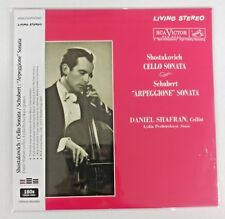 Daniel Shafran-Shostakovich: Cello Sonata/ Schubert: Arpeggione Sonata(180g) New