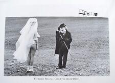 Federico Fellini Giulietta degli spiriti poster stampa d'arte immagine 60x80cm