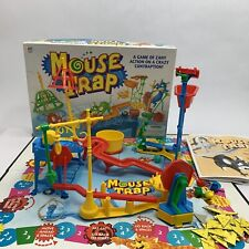 New listing Mouse Trap Board Game 1999 Milton Bradley Not Complete