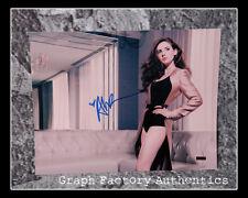 GFA Mad Men Sexy Star Alison Brie Signiert 11x14 Foto AD1 Coa