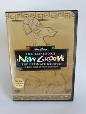 Walt Disney. THE EMPEROR'S NEW GROOVE DVD. EAN: 786936150926. 2 Disc Collectors