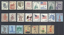 1975-81 US Americana Set of 23 - 1581-1612 Singles & 1623A Booklet Pair MNH