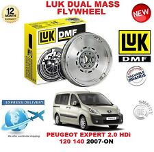 PARA PEUGEOT EXPERT 2.0 HDi 120 140 07-ON LUK DMF VOLANTE DE INERCIA DOBLE