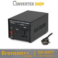 Bronson++ VT 300 Watt Transformateur / USA 110 Volt Converter / Convertisseur