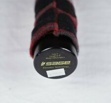 """Sage One Circa fly fishing rod case Cloth Outer Sleeve 1.75"""" Only Made USA 9' 4p"""