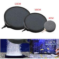 Aquarium Fish Tank Pond Pump Oxygen Bubble Disk Air Pottery Stone Aerator