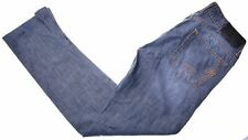 LIU JO Womens Jeans W27 L29 Blue Cotton Straight  IE03