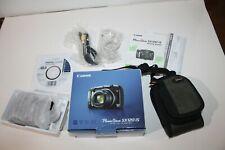 Open Box - Canon PowerShot SX120 IS 10.0 MP Camera - BLACK
