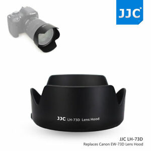 JJC Lens Hood for Canon RF 24-105mm F4-7.1 IS STM Lens Replace EW-73D on R5 R6