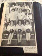 65-8 Ephemera 1965 Picture Mrs V Timms Ladies Bowling League Players