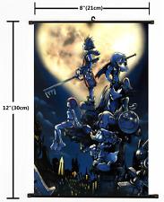 Japanese Anime Kingdom Hearts Home Decor Poster Wall Scroll 2032