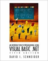 Introduction to Programming with Visual Basic.NET,