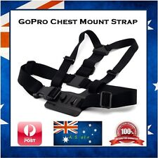 GoPro Chest Strap Mount For Go Pro Hero Sessions 4 / 3+ / 3  Cameras - Black