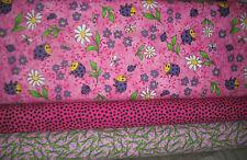 Northcott Love Bug I & II FLANNEL QUILT Fabric SET  - 2 yds