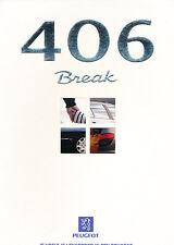 1998 Peugeot 406 Break 5/98 V2 Dutch Sales Brochure