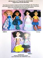 """NG Creations Pattern #41 Country Club Fashions Sew 5 Outfits fit 12/"""" Tammy Doll"""