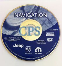 2003 2004 2005 Jeep Wranger Liberty Grand Cherokee Overland Navigation DVD AJ