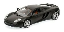MINICHAMPS 110 133024 McLAREN MP4-12C diecast road car 2011 Matt Grey 1:18th