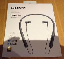 Sony MDR-EX750BT h.ear in charcoal wireless bluetooth earphones - Used & boxed