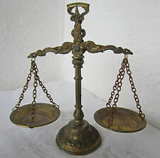 "7.5"" Antique  Vintage  ornate  DECORATIVE  SCALE  Balance, patina"