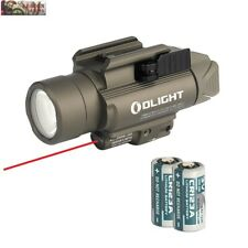 Olight Baldr RL White LED Flashlight + Red Laser Gun Light w/ 2x Batteries (Tan)