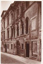VICENZA - Via della Luna - Casa Pigafetta 1942