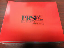 PRS Paul Reed Smith Guitars Catalog - 2007 Santana Tremonti & More Rare NEW
