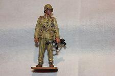 FIGURINE EN PLOMB WARRANT OFFICIER AFRIKAKORPS GER. 1942