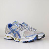 Asics Gel-Nimbus 12 Womens Size 8.5 Gray Blue Athletic Training Running Shoes