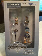 Disney Kingdom Hearts Series 2.5 Donald, Chip & Dale Action Figures New