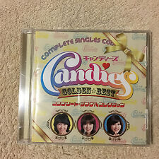 Candies Golden Best Complete Singles Collection CD Japan _Very Good.  (0367)