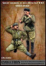 Evolution miniatures 1/35 #35135 la Seconde Guerre Mondiale Soldats Soviétiques au repos 1943-45 #4