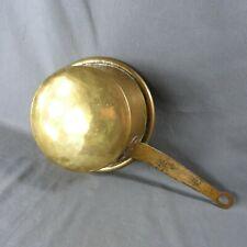 "Antique French Copper Pot Saucepan Handmade Rustic Style Ø 8"""